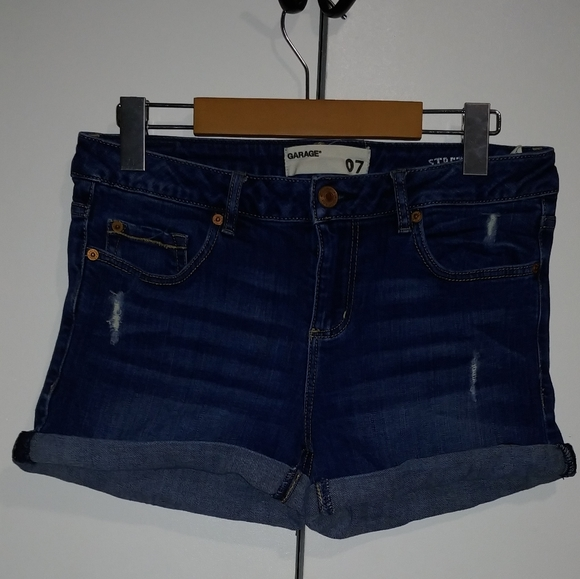3/$25🔥Garage stretch jean shorts